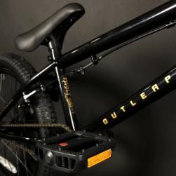 Outleap REVOLT 2021 19 black BMX bike